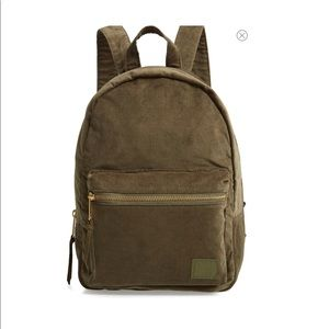 Herschel small groove corduroy Backpack